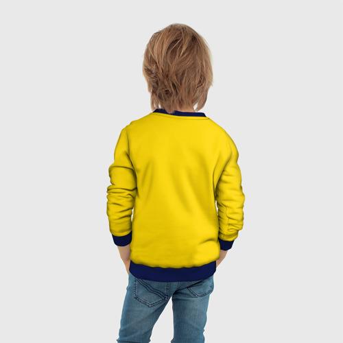 Детский свитшот 3D Золотой Студент Фото 01