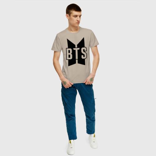 Мужская футболка хлопок BTS Фото 01