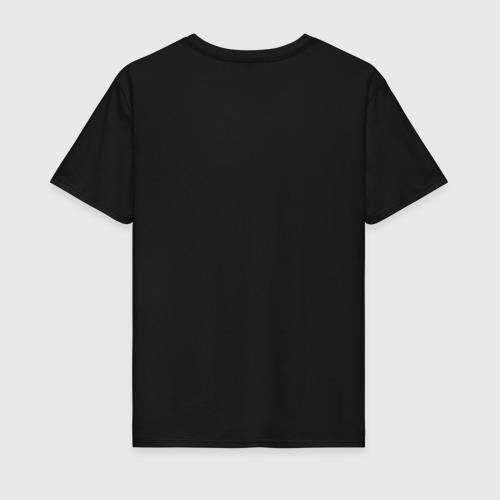 Мужская футболка хлопок инь ян глитч Фото 01