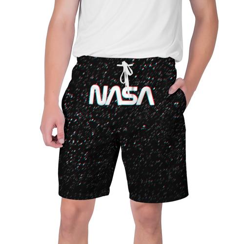 Мужские шорты 3D NASA GLITCH SPACE Фото 01
