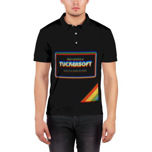 Мужская рубашка поло 3D Bandersnatch Фото 01
