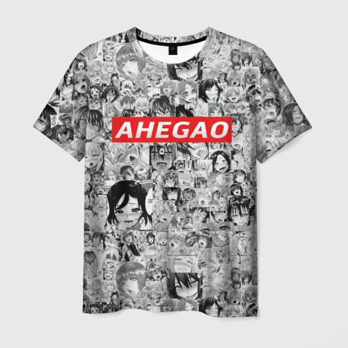 Мужская футболка 3D AHEGAO