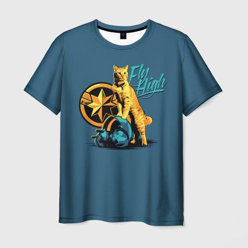 Мужская футболка 3D Fly High