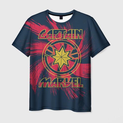 Мужская футболка 3D  Фото 01, Captain Marvel