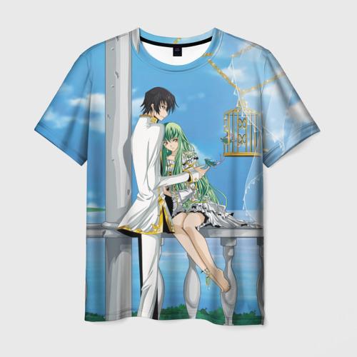 Мужская футболка 3D Code Geass