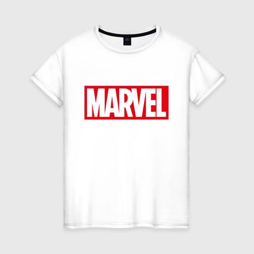 Женская футболка хлопок MARVEL