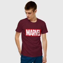 MARVEL, цвет: меланж-бордовый, фото 72