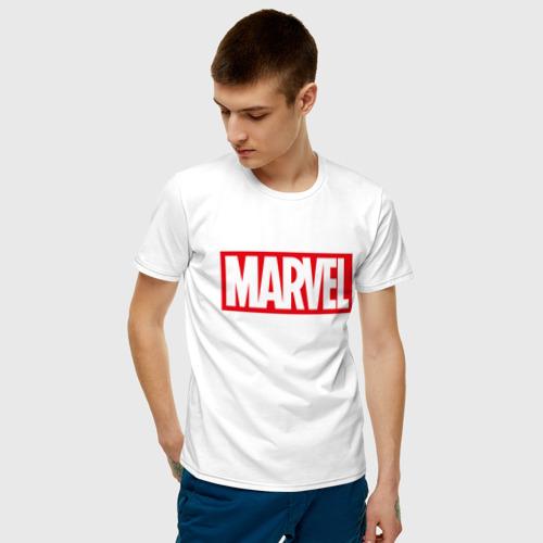 Мужская футболка хлопок MARVEL Фото 01