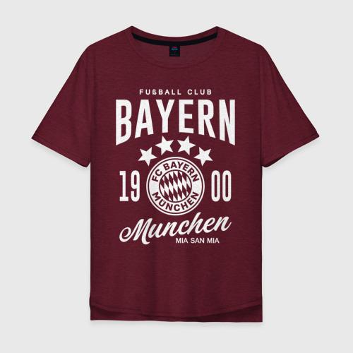 Мужская футболка хлопок Oversize Бавария Фото 01