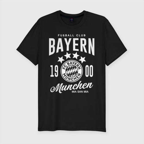 Мужская футболка премиум Бавария Фото 01