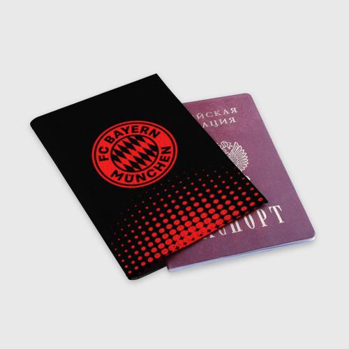 Обложка для паспорта матовая кожа Бавария Фото 01