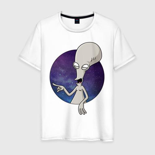 Мужская футболка хлопок Roger