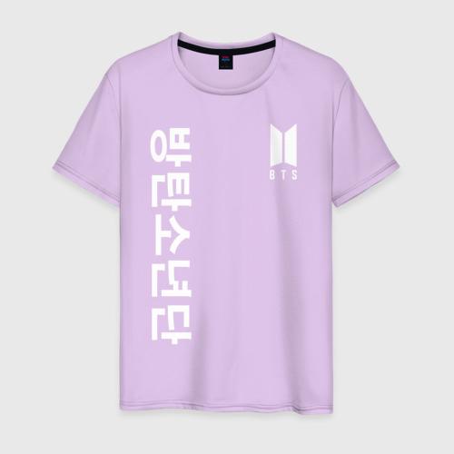 Мужская футболка хлопок BTS | БТС | BANGTAN BOYS Фото 01