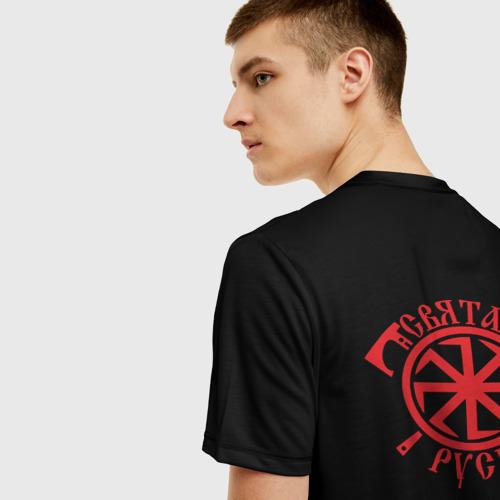 Мужская футболка 3D Святая Русь Фото 01