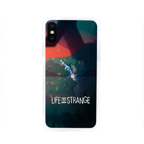 Чехол для Apple iPhone X силиконовый глянцевый Life is Strange Фото 01