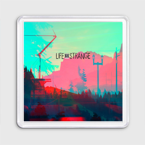 Магнит 55*55 Life is Strange Фото 01