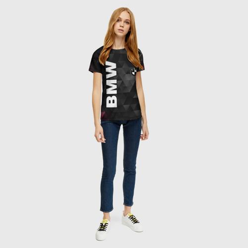 Женская футболка 3D BMW Фото 01