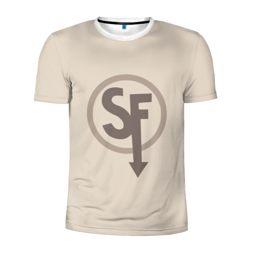 Мужская футболка 3D спортивная ЛАРРИ SANITY`S FALL