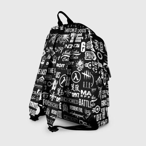 Рюкзак 3D ЛОГОТИПЫ ИГР