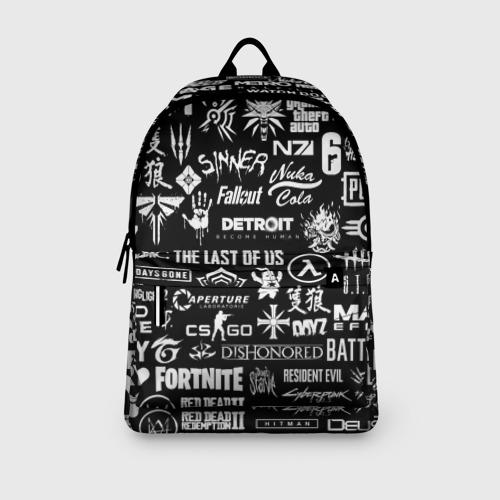 ЛОГОТИПЫ ИГР  (3d рюкзак) фото 1