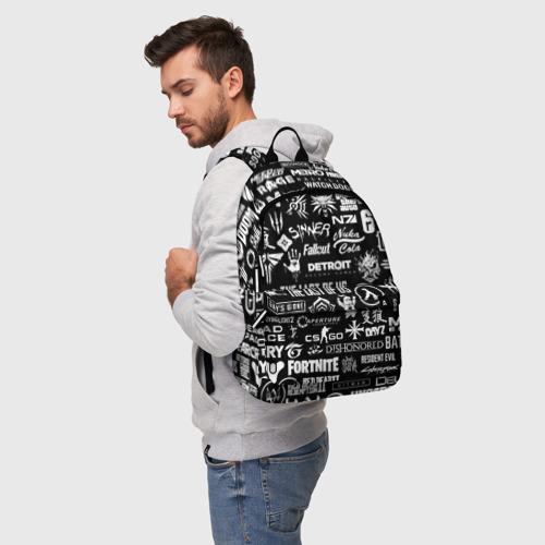 ЛОГОТИПЫ ИГР  (3d рюкзак) фото 2