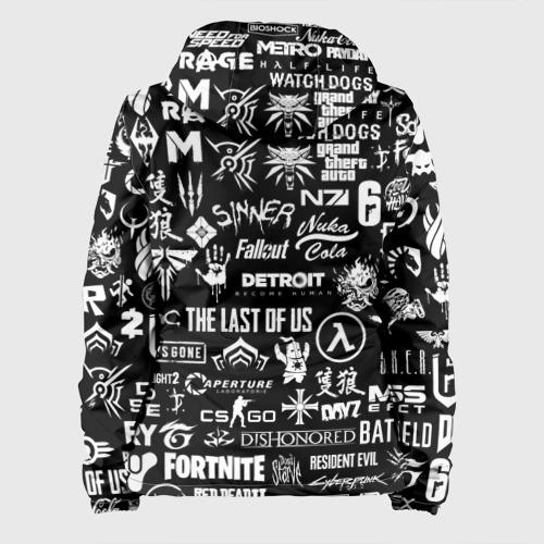 Женская куртка 3D ЛОГОТИПЫ ИГР  Фото 01