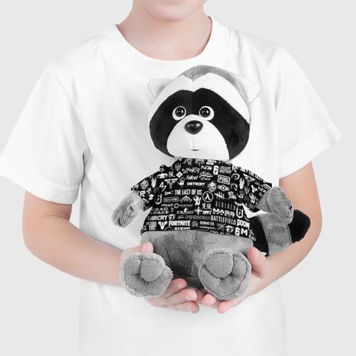 Енотик в футболке 3D ЛОГОТИПЫ ИГР  Фото 01