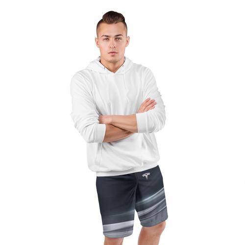 Мужские шорты спортивные TESLA   ТЕСЛА Фото 01