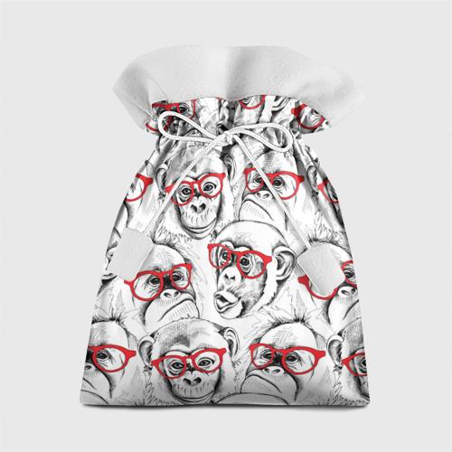 Подарочный 3D мешок Обезьяны Фото 01