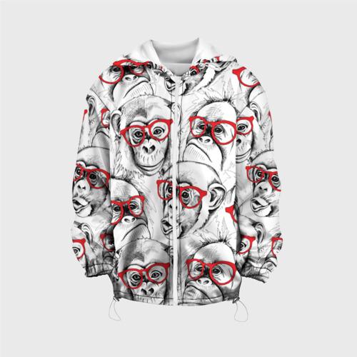 Детская куртка 3D Обезьяны Фото 01