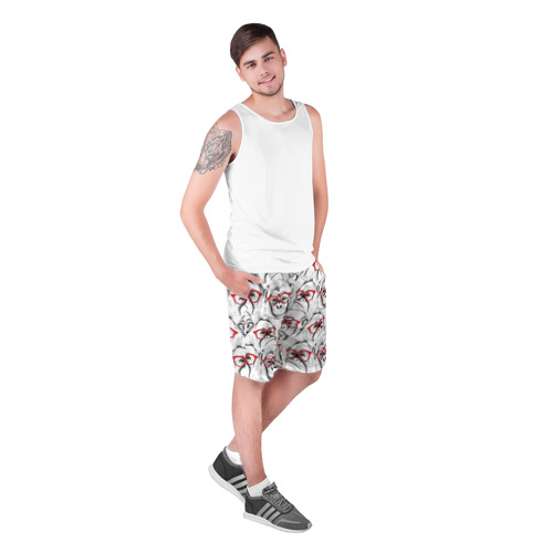 Мужские шорты 3D Обезьяны Фото 01