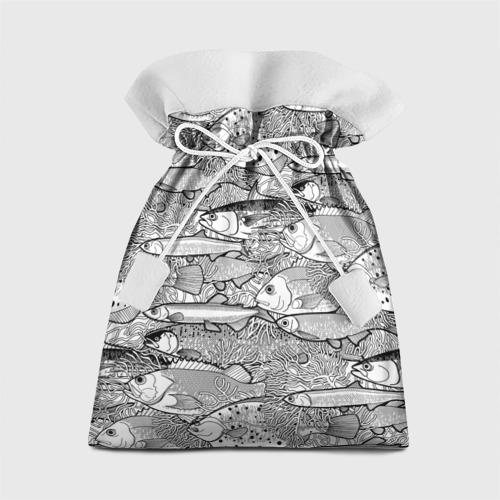 Подарочный 3D мешок Рыбы Фото 01