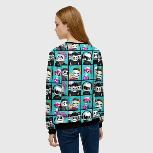 Женский свитшот 3D Marshmello Фото 01