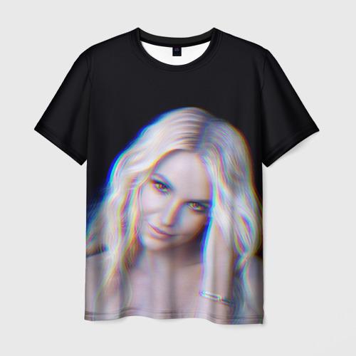 Мужская футболка 3D Britney Glitch