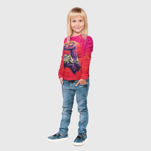 Детский лонгслив 3D  Фото 04, Gangsta