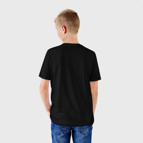 Детская футболка 3D  Фото 02, Лиса маслом