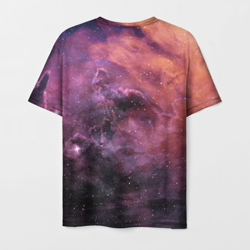 Мужская футболка 3D Elon Musk Space Илон Маск Фото 01