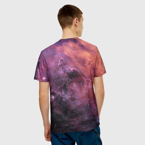 Мужская футболка 3D  Фото 02, Elon Musk Space Илон Маск
