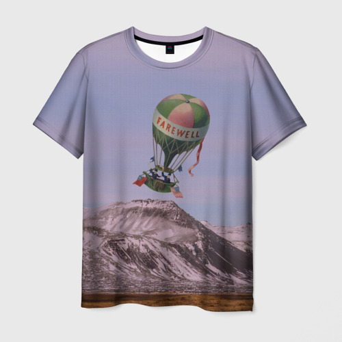 Мужская футболка 3D  Фото 01, Воздушный шар