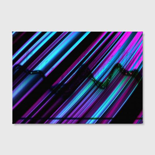 Холст прямоугольный Неоновая броня Фото 01