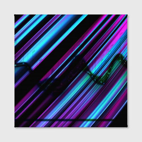 Холст квадратный Неоновая броня Фото 01