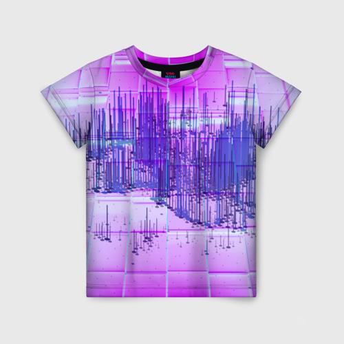 Детская футболка 3D ABSTRACT NEON Фото 01
