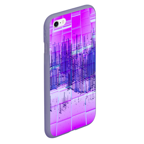 Чехол для iPhone 6/6S матовый ABSTRACT NEON Фото 01