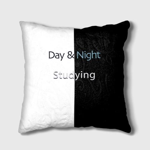 Подушка 3D День и Ночь Учеба One фото