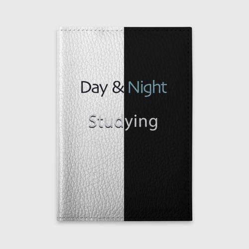 Обложка для автодокументов День и Ночь Учеба Фото 01