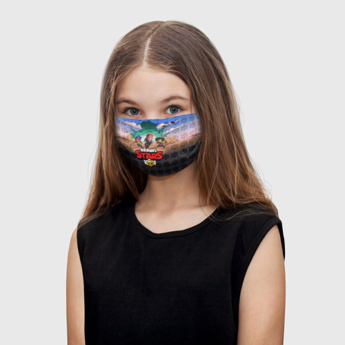 Детская маска (+5 фильтров) Brawl Stars Фото 01