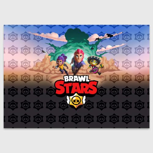 Поздравительная открытка Brawl Stars Фото 01