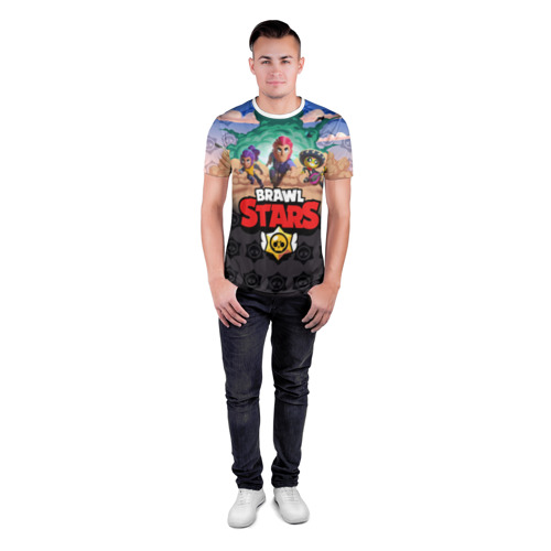 Мужская футболка 3D спортивная Brawl Stars Фото 01