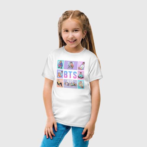 Детская футболка хлопок BTS Фото 01