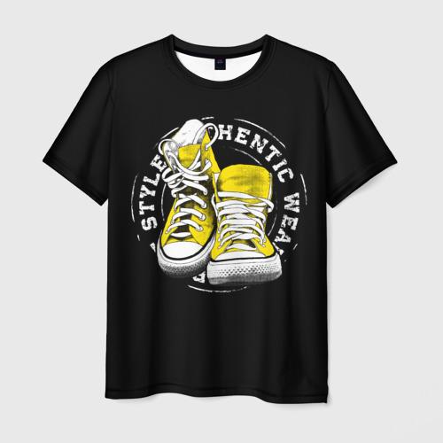 Мужская футболка 3D  Фото 03, Sporty style, sneakers